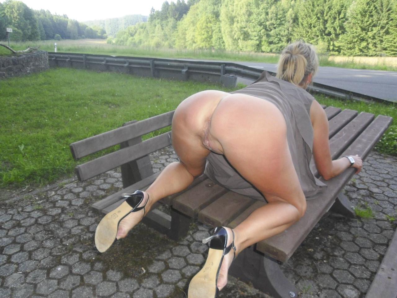 Nude women in dirty bondage