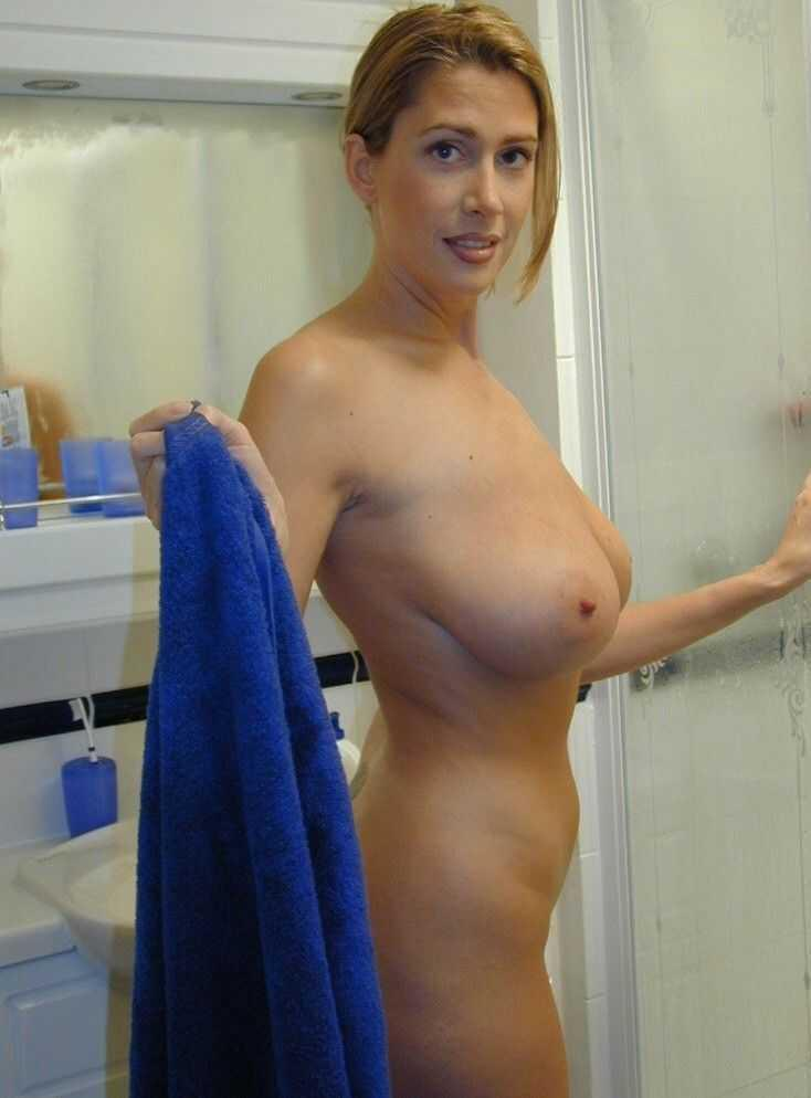 Nude at private party